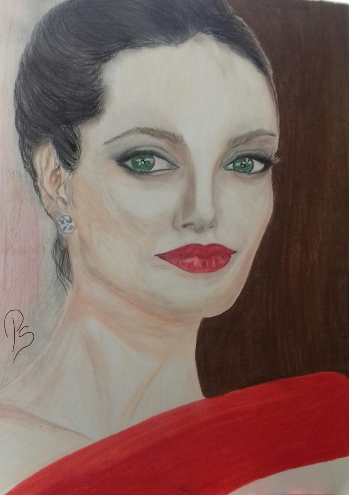 Angelina Jolie by PenStilos